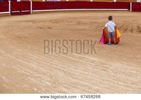 Child On Arena