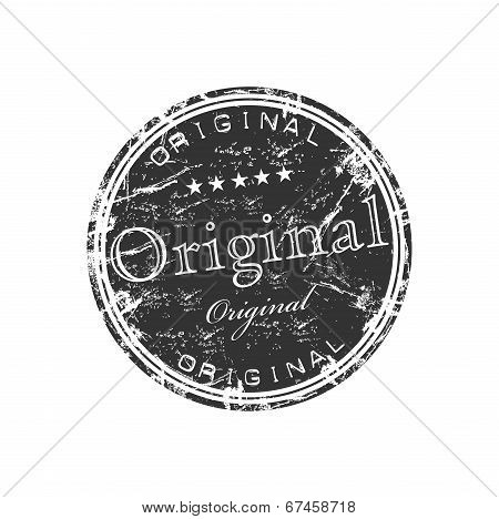 Original grunge rubber stamp