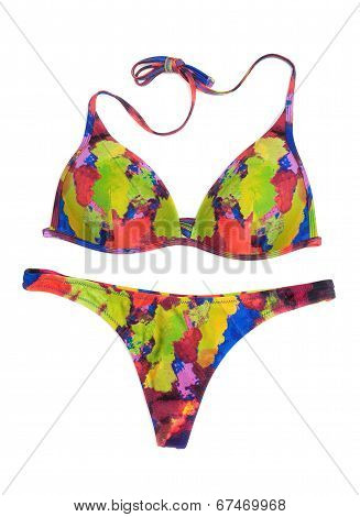 Bright Colored Swimsuit