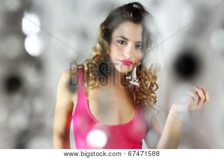 Dancing Sexy Woman