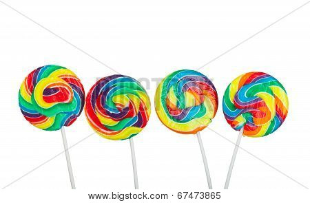 Four Lollipops
