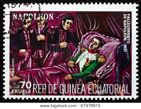 Postage Stamp Equatorial Guinea 1972 Death Of Napoleon