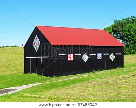 Quilted Tobacco Barn