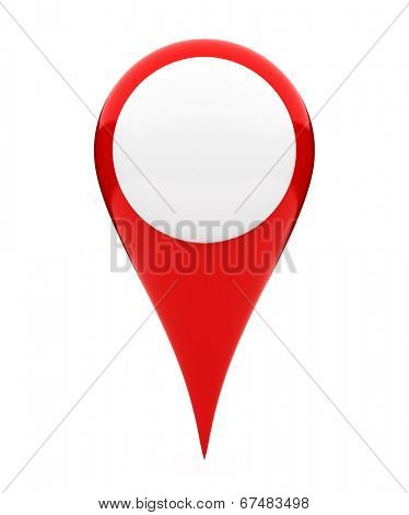 Blank location marker