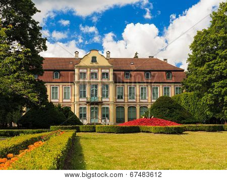 Abbots Palace In Poland