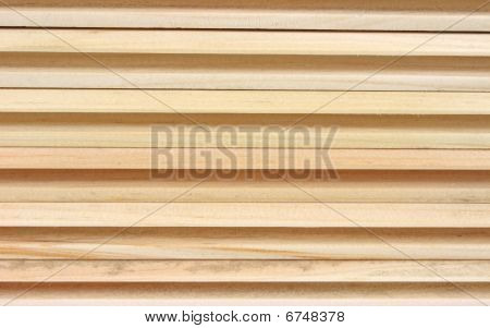 Side of tongue and groove pine boards