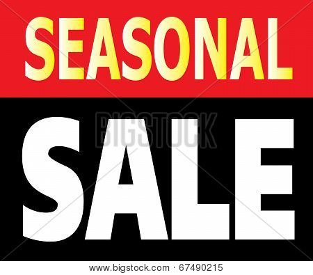 Seasonal Sale Promotion Label