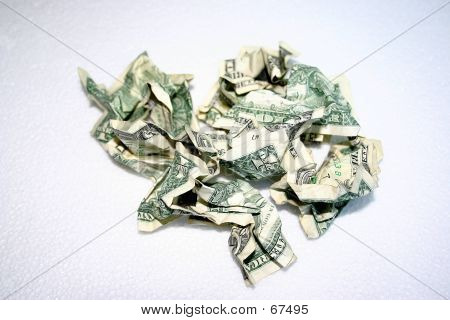 Crumpled Bills - 1