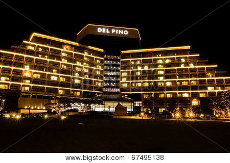 Seoraksan, South Korea - Oct 14, 2012: Del Pino Resort Is Located Near Seoraksan National Park For T