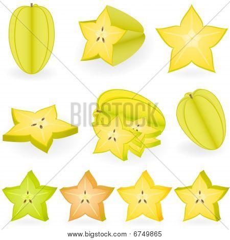 Icon Set Carambola