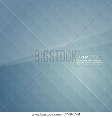 Abstract back background with a pattern of geometric shapes.