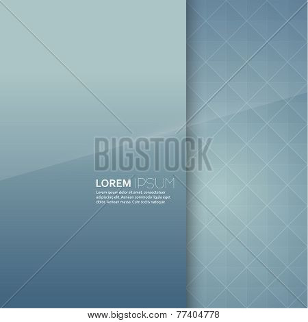 Turquoiseglossy blank with a background texture