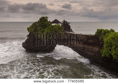 Temple On A Rock