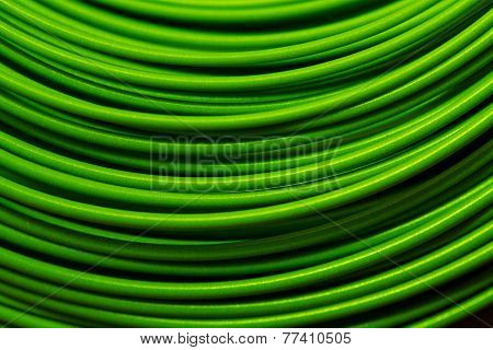 Fly Fishing Line Macro