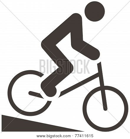 Cycling Bmx Icon