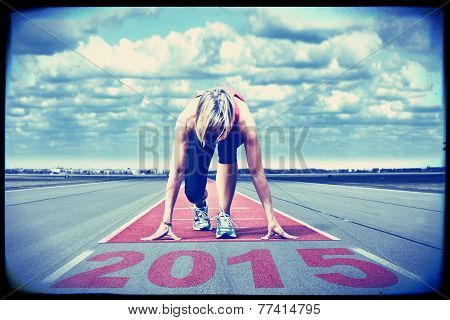 Runner Start Runway 2015 Vintage