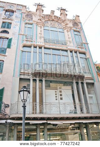 Art nouveau or modernista building Palma