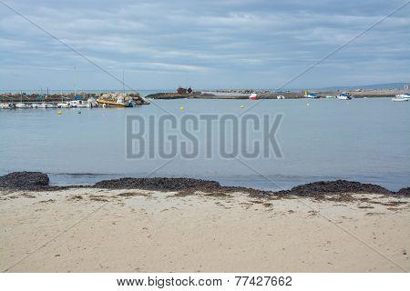 Cala Estancia beach in November