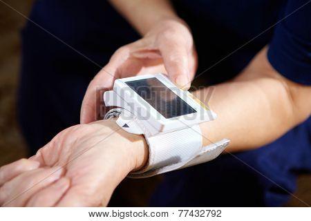Blood Pressure Measuring.