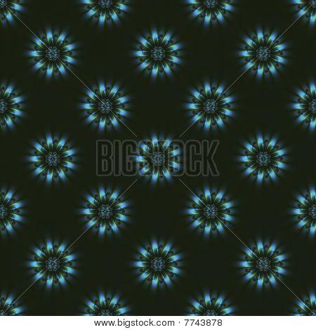 Seamless Blue Roundels