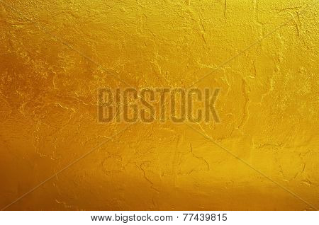 Golden Texture Pattern Background