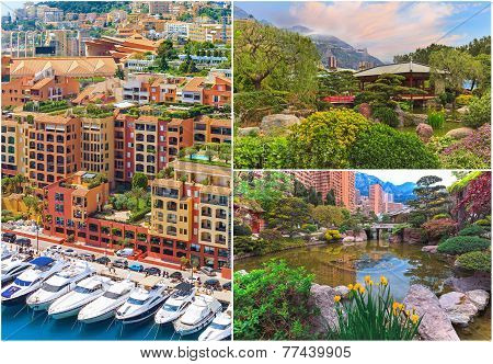 Views Of Monaco, Collage