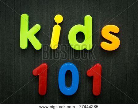 Kids 101 course concept