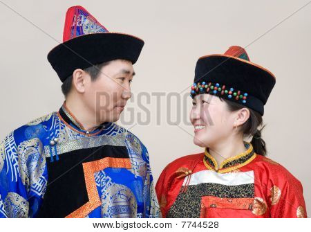 Mongolian Couple