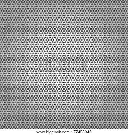 Perforated Plate Texture Metal Background