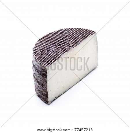 Isolated Medium Cheese