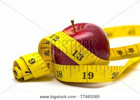 Apple With Metre