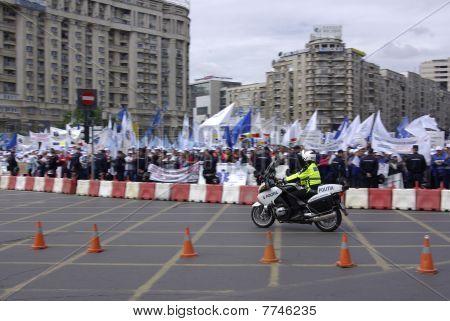 Motorbike police
