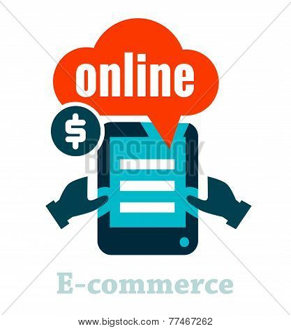 electronic commerce icon