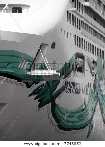 Cruise Liner Abstract