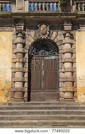 Historical Decorative Door