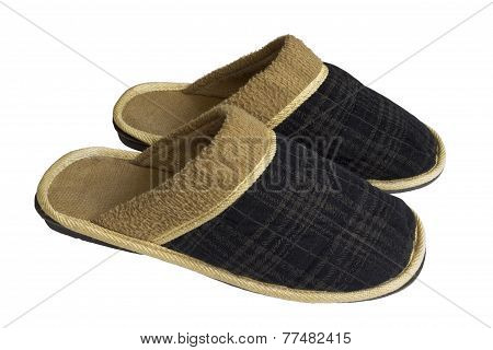 Pair Of Home Slippers
