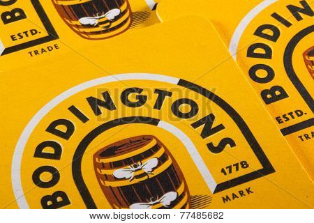 Beermats from Boddingtons Beer
