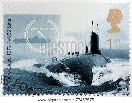 Swiftsure Class Submarine