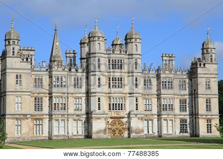Burghley House of England