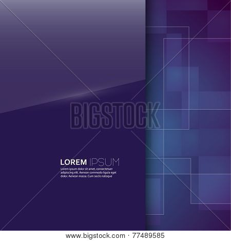 Purple glossy blank with a background texture