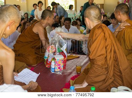 Thailand People Participate In Annual Merit-making Ceremony