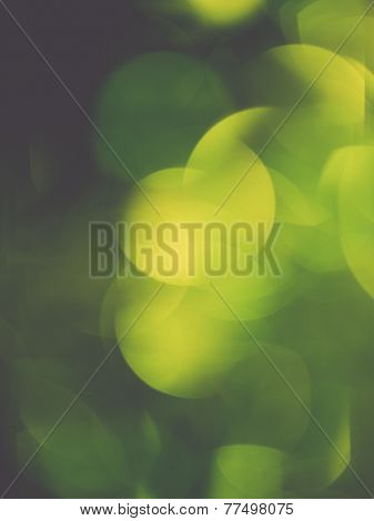 Abstract Festive Background. Christmas And New Year Feast Bokeh Background With Copyspace. . Vintage
