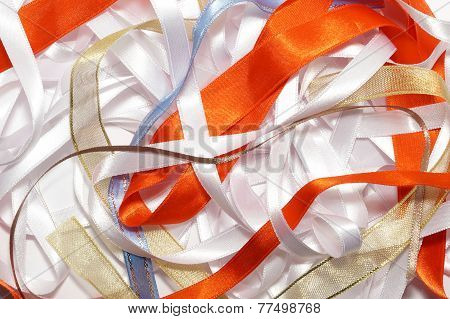Lots of ribbons