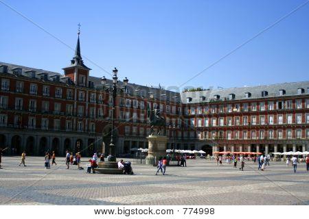 Madrid plaza