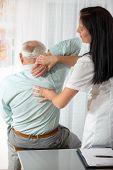 stock photo of chiropractor  - Chiropractic - JPG