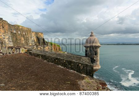 Sentry Box at Castillo San Felipe del Morro, San Juan