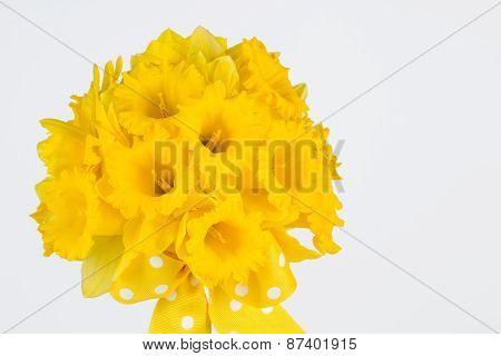 Close Up Of Daffodil Bouquet