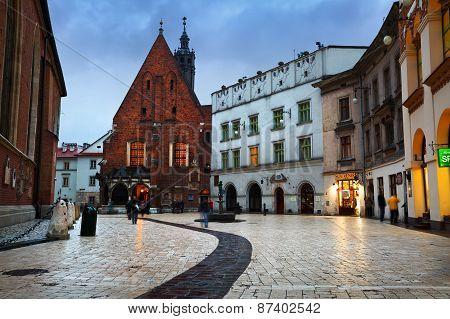 Streets of Krakow.