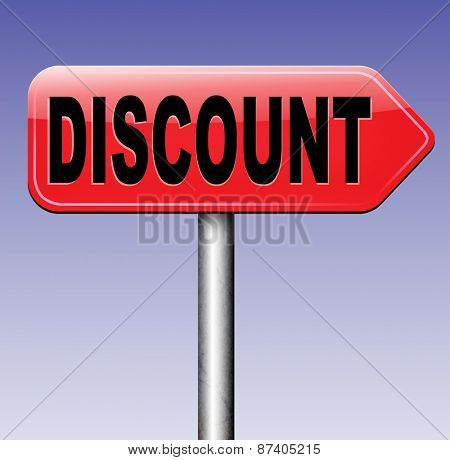 discount lowest price special offer bargain and sales discount  label or sign