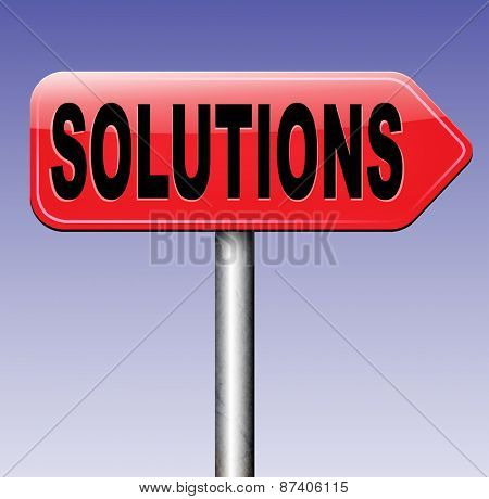 solutions solve problems and search and find a solution to pop quiz questions road sign arrow